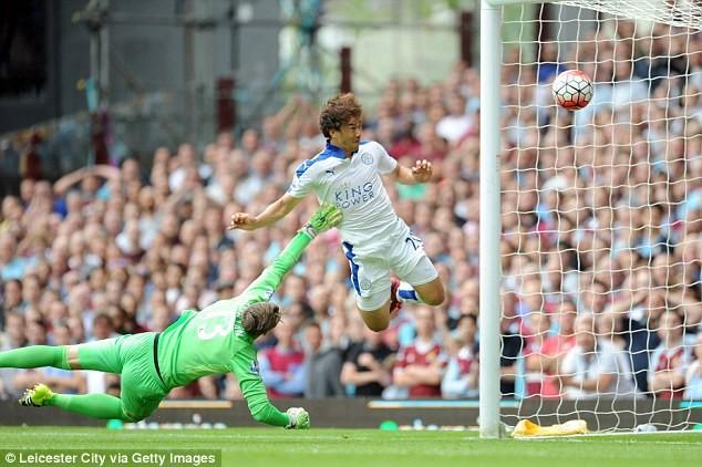 Shinji Okazaki ożywił Leicester City