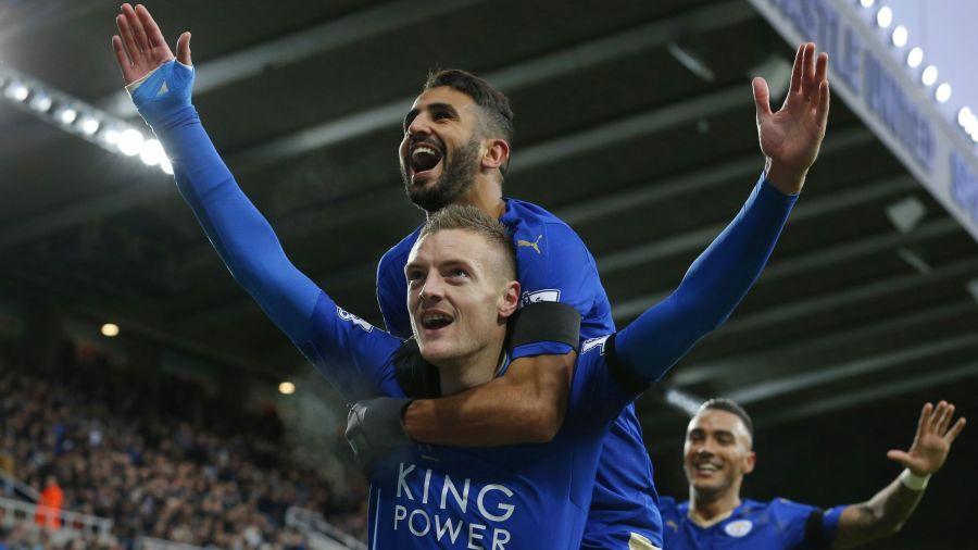 Leicester pokonuje Newcastle 3:0, Vardy rekordzistą