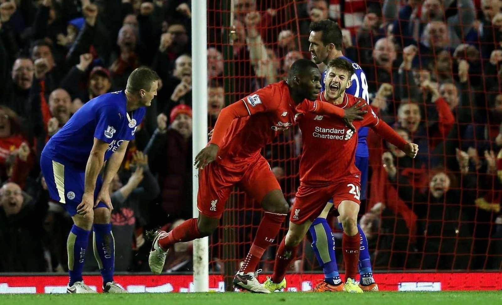 Liverpool pokonuje Leicester City 1:0