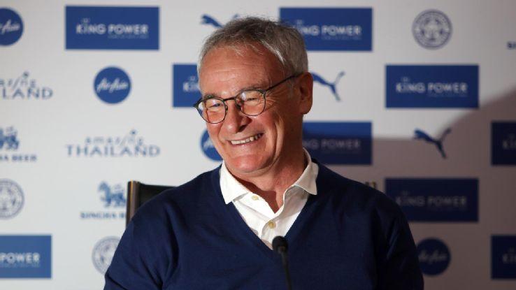 Ranieri: zawodnicy mają ciszyć się z piłki nożnej