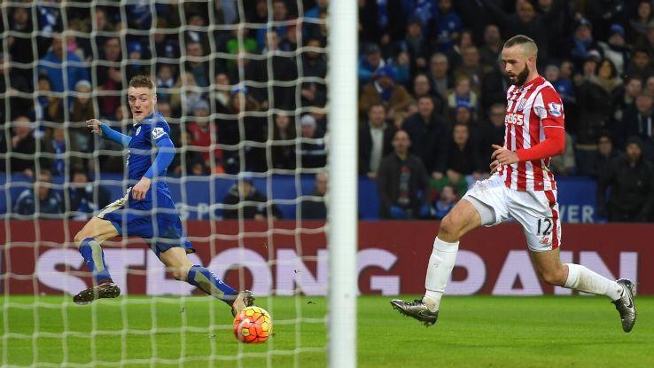 Leicester City pewnie pokonuje Stoke City 3:0