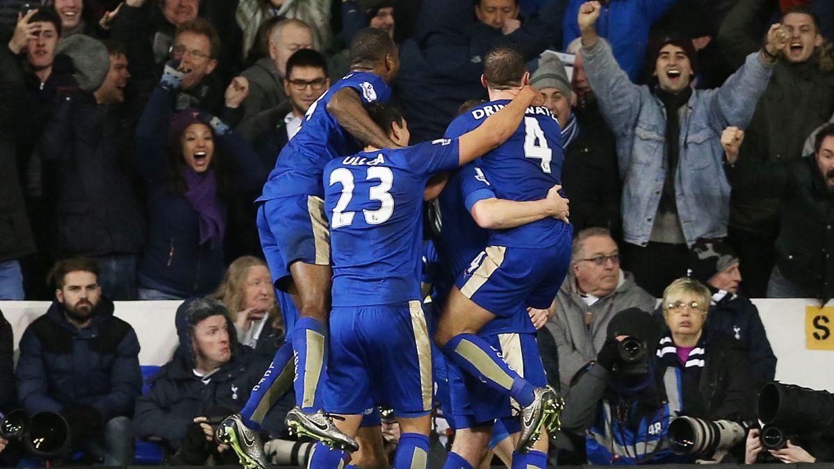 Leicester najbardziej szalonym zespołem ligi