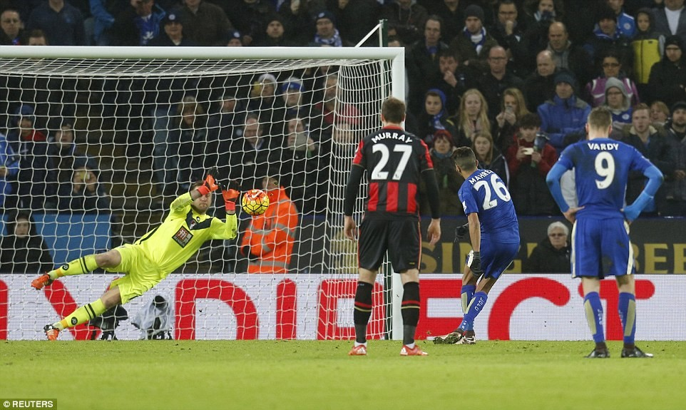 Tylko remis Leicester City z Bournemouth