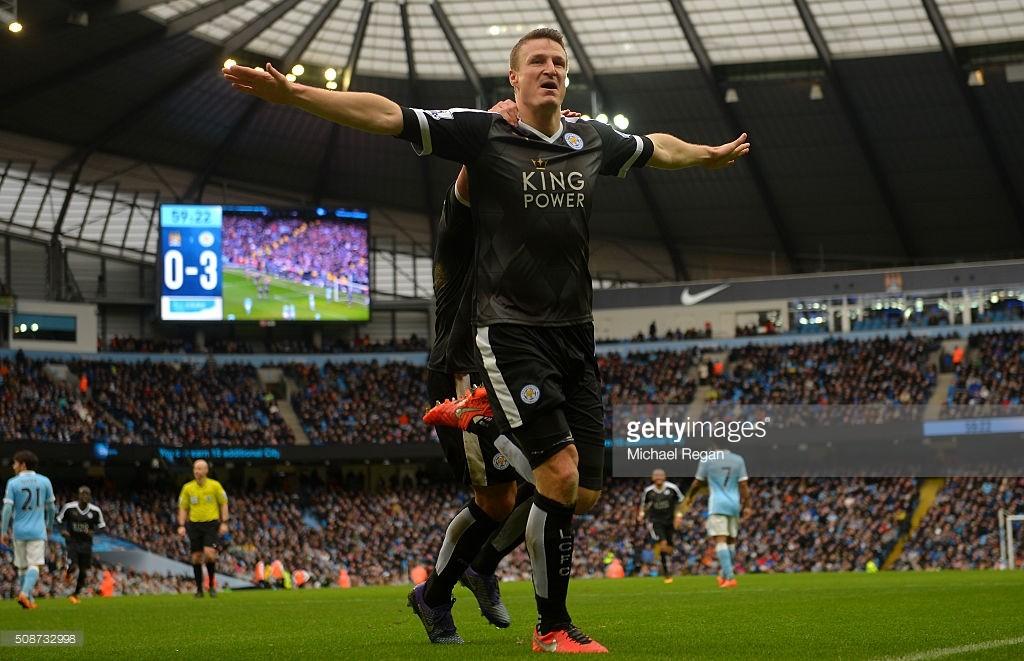 Leicester City pokonuje na wyjeździe Manchester City 3:1
