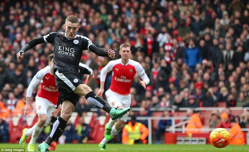 Leicester przegrywa z Arsenalem Londyn 1:2