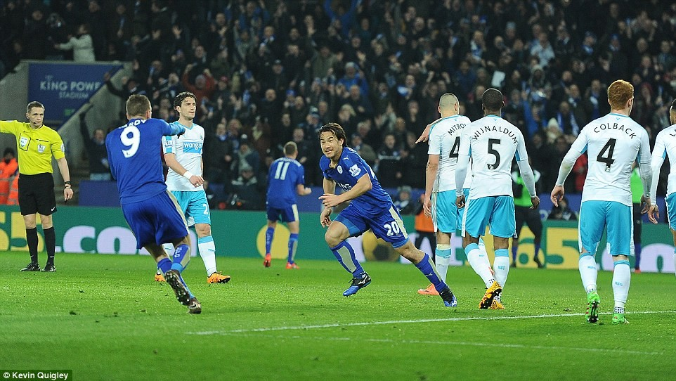 Leicester City pokonuje Newcastle United 1:0