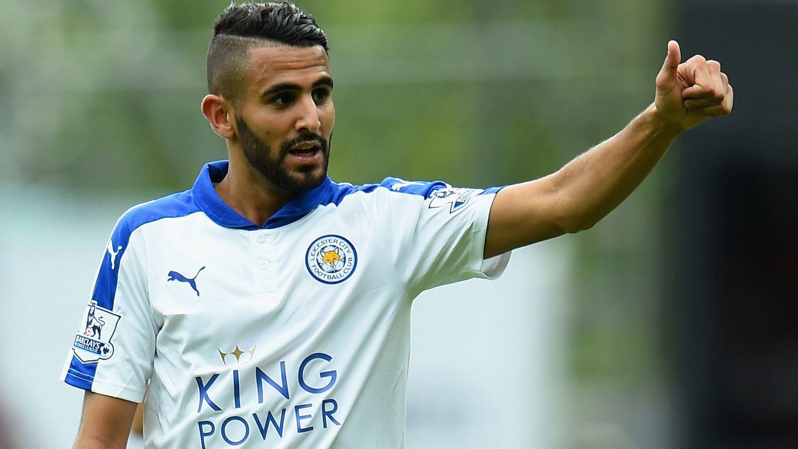 Mahrez: nasza gra cieszy i jest dla nas przyjemnością