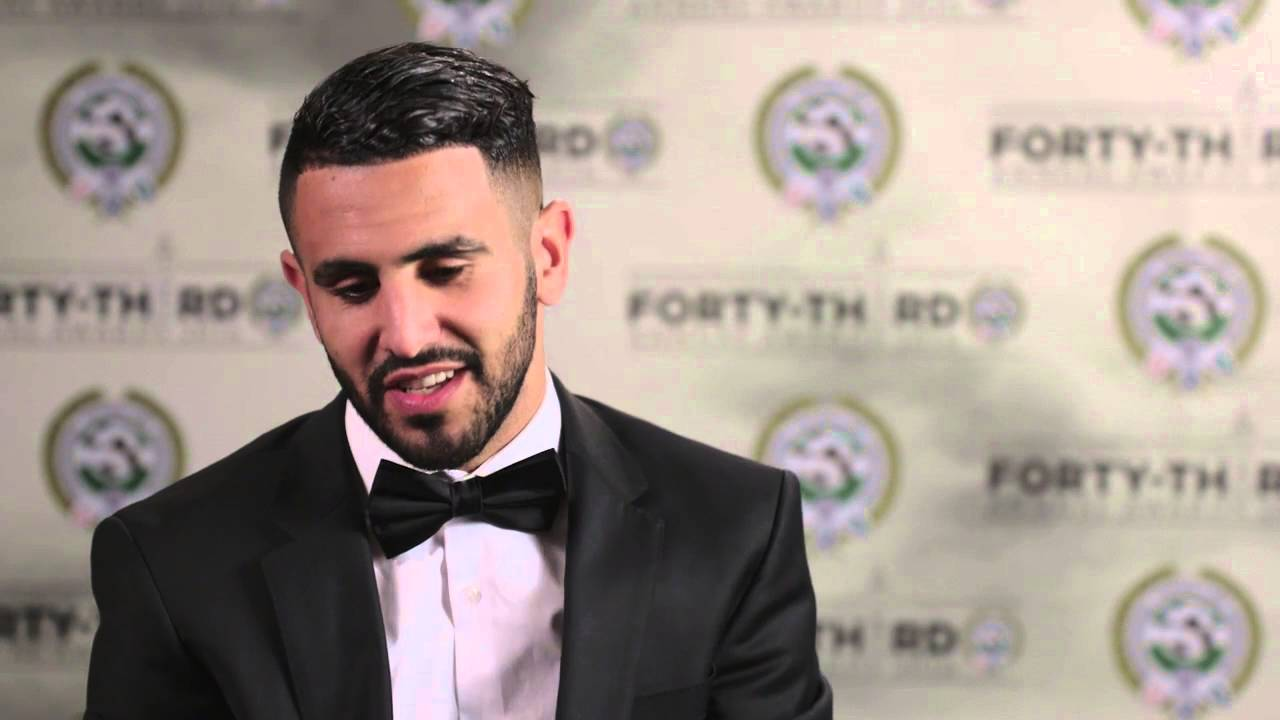 Riyad Mahrez najlepszym graczem Premier League