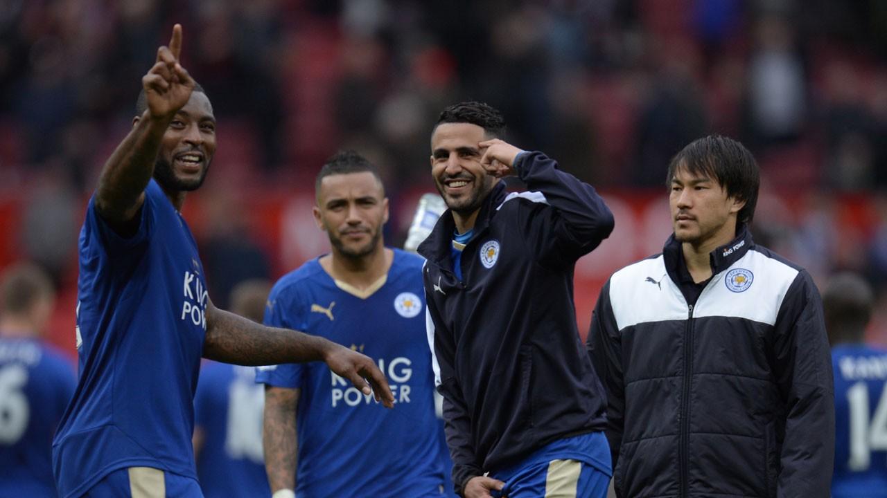 Piłkarze Leicester świętują na imprezie u Vardego