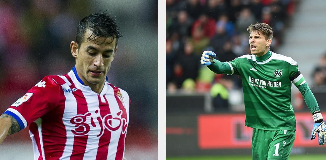 Zieler i Hernandez blisko Leicester City
