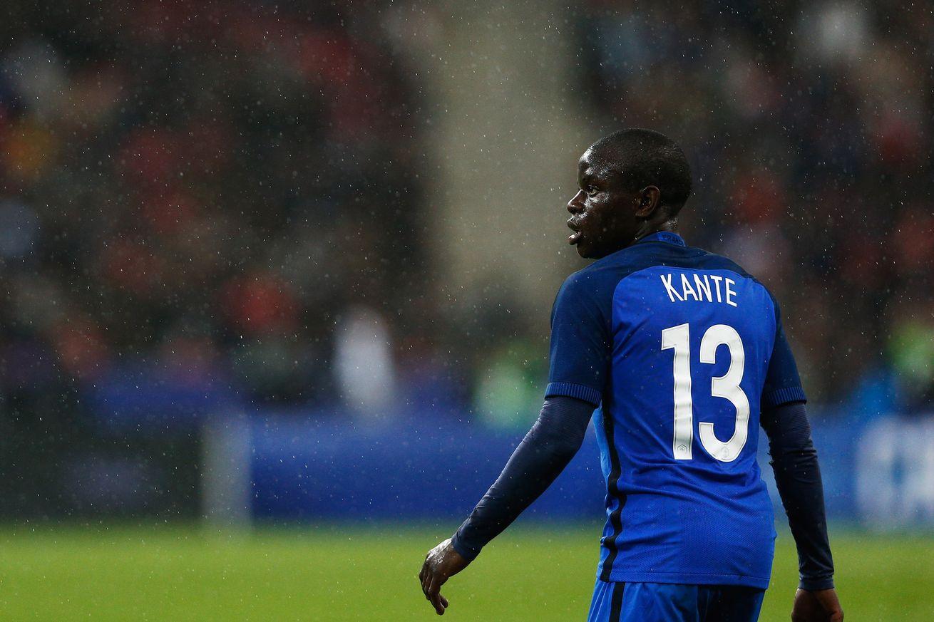 N'golo Kante graczem Chelsea Londyn