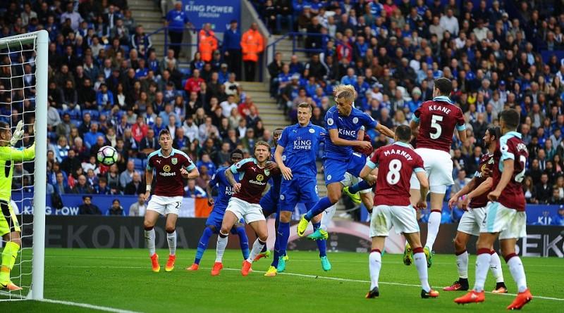 Leicester City pokonuje Burnley 3:0