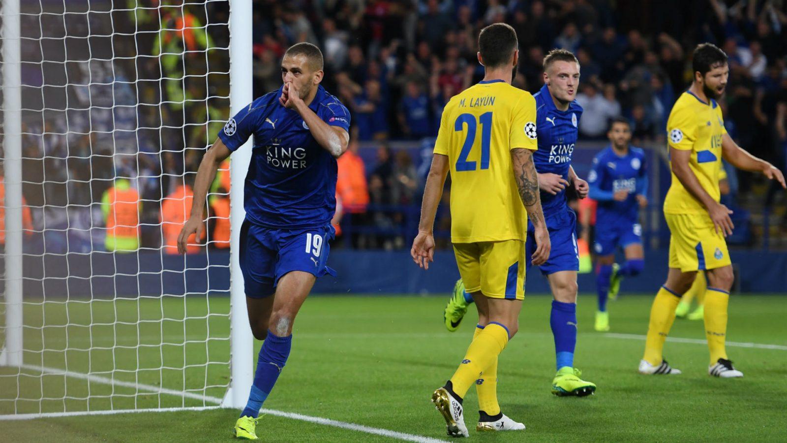 Leicester City pokonuje FC Porto 1:0