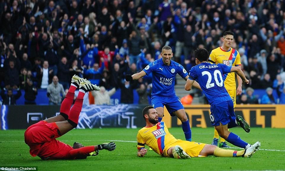 Leicester City pokonuje Crystal Palace 3:1
