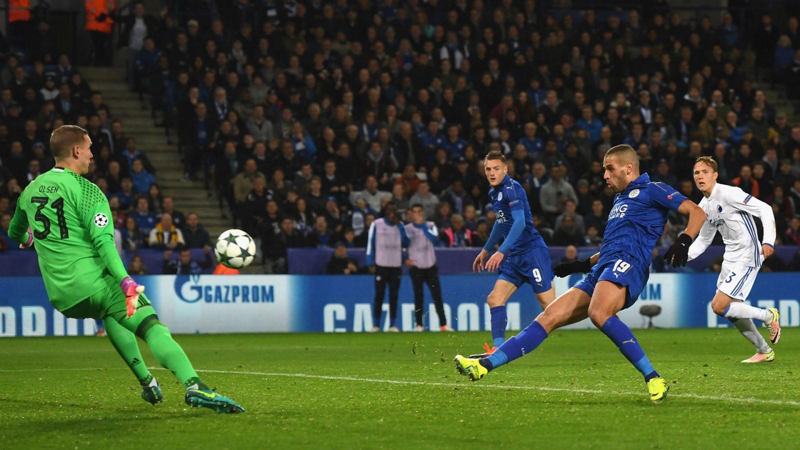 Leicester City pokonuje FC Kopenhaga 1:0