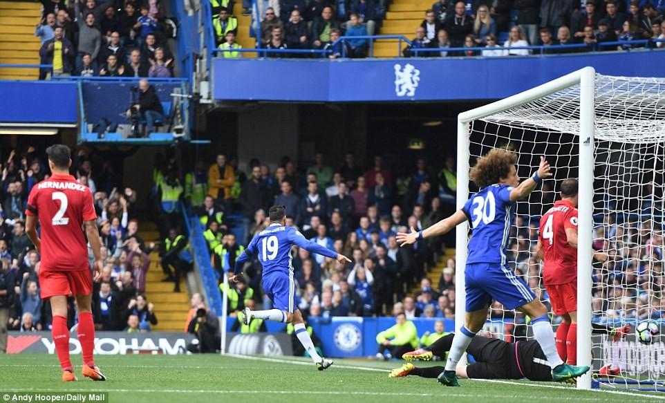 Leicester rozbity przez Chelsea 0:3